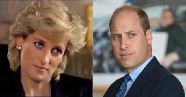 Prince William welcomes investigation into BBC Diana interview Pics: BBC/Getty