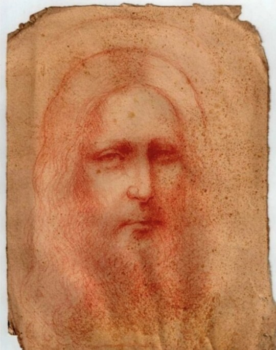 Sketch of Christ thought to be a Da Vinci masterpiece
