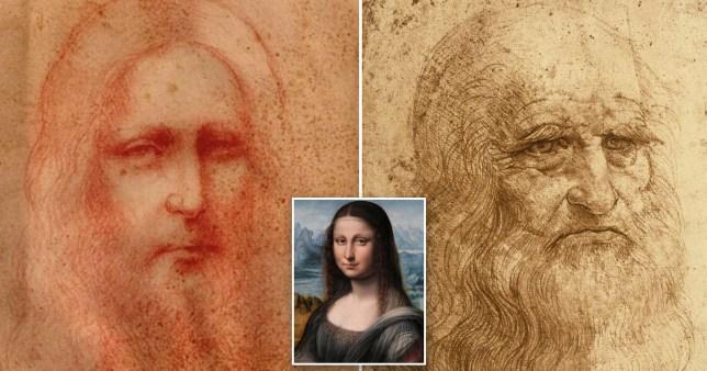Croquis du Christ considéré comme un chef-d'œuvre de Da Vinci (crédit Leonardo da Vinci International)
