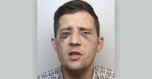 Robber threatened to pour boiling water over pensioner before stealing his life savings Wayne Roberts, 36