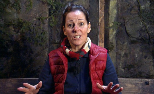 STRICT EMBARGO - NO PUBLICATION BEFORE 22:15 GMT Thursday 19th November 2020. Editorial use only Mandatory Credit: Photo by ITV/REX (11023783bj) Jester Secret Mission, part 1 - Ruthie Henshall 'I'm a Celebrity... Get Me Out of Here!' TV Show, Series 20, Show 5, Gwrych Castle, Wales, UK - 19 Nov 2020