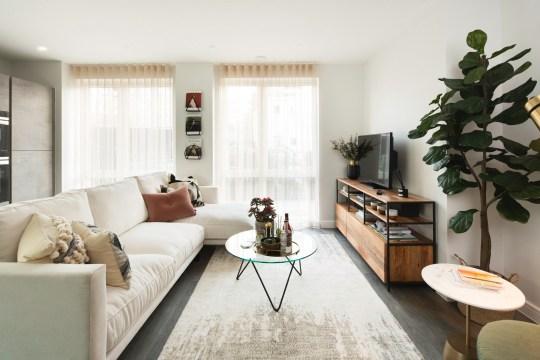 Acton Garden living room, Acton