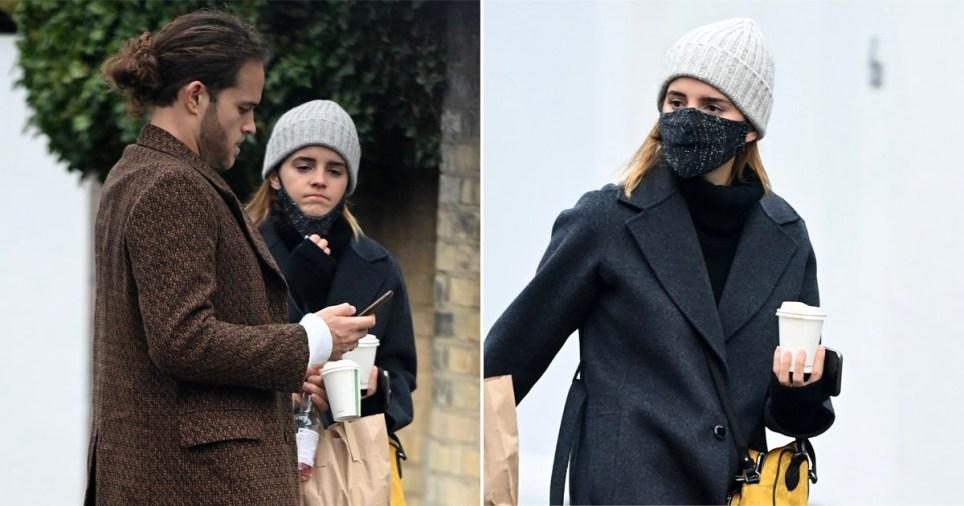 Emma Watson and boyfriend Leo Robinton