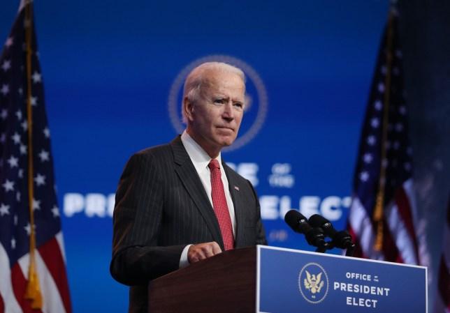 Joe Biden on Thursday