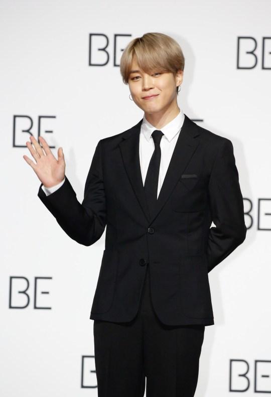 BTS star Jimin