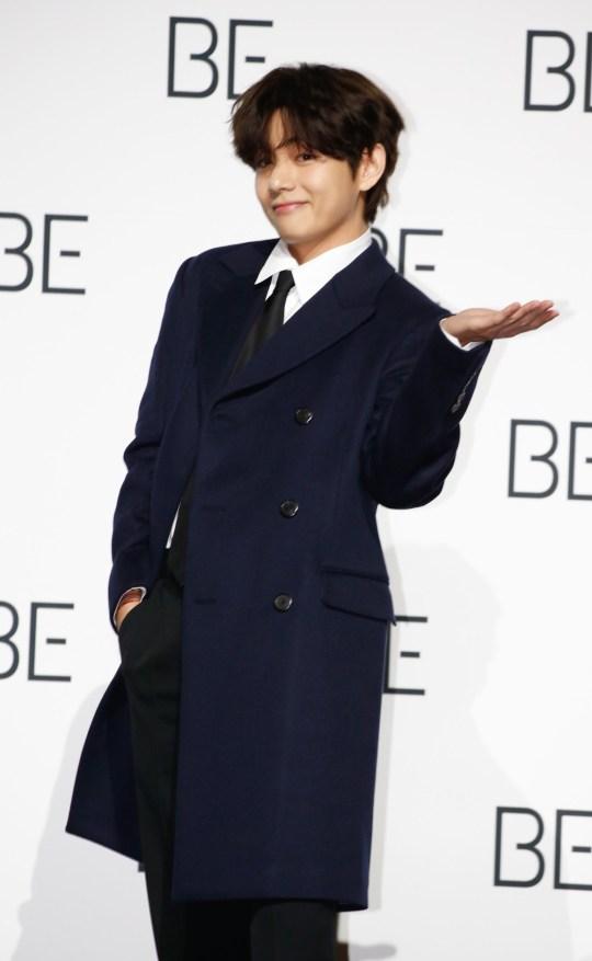 BTS star V