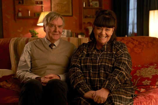 dawn french in vicar of dibley in lockdown