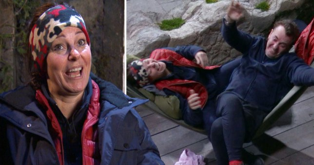 Ruthie Henshall and Shane Richie on I'm A Celebrity