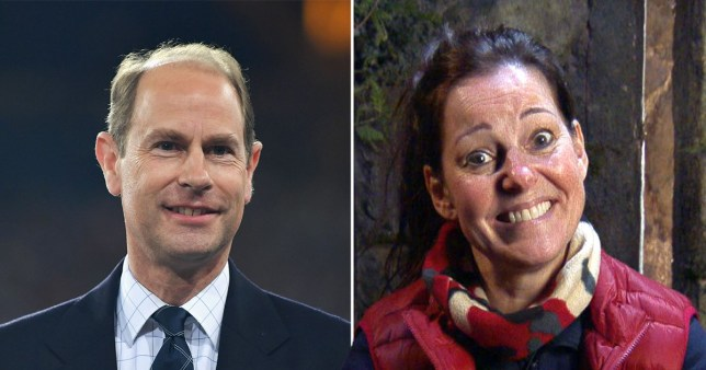 Prince Edward and Ruthie Henshall