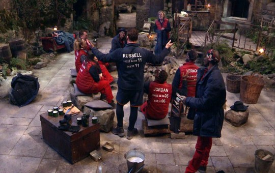 Russell Entertains - Campmates 'I'm a Celebrity... Get Me Out of Here!'