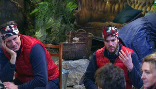 Vernon Kay and Jordan North 'I'm a Celebrity... Get Me Out of Here!'