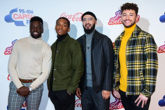LONDON, ENGLAND - DECEMBER 08: Rak-Su attend the Capital FM Jingle Bell Ball at The O2 Arena on December 08, 2018 in London, England. (Photo by Joe Maher/Getty Images)