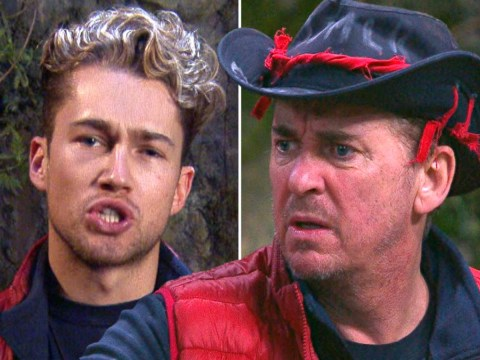 I'm A Celebrity Get Me Out Of Here! tension as AJ Pritchard and Shane Ritchie clash over pans
