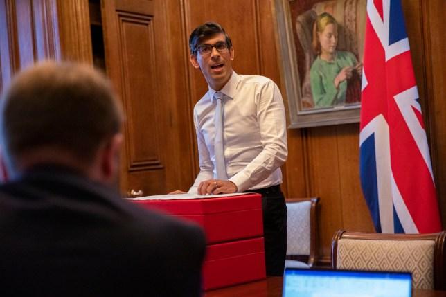 The Chancellor prepares his Spending Review speech