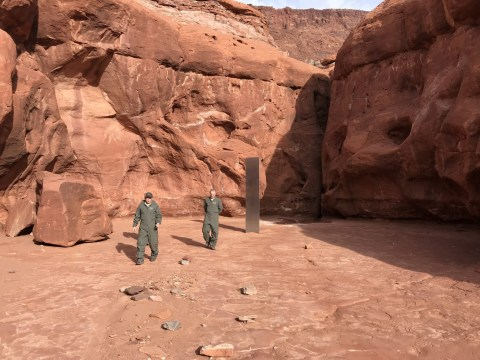Utah's mystery monolith has suddenly vanished