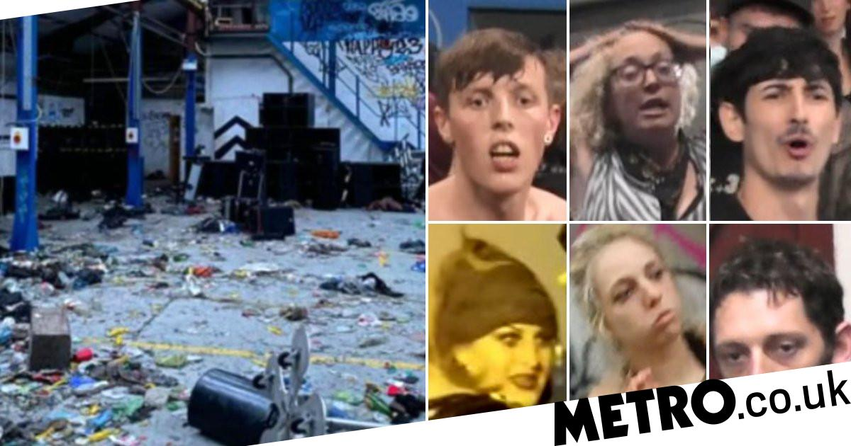 Hunt for ravers after police pelted with bottles at warehouse event - metro