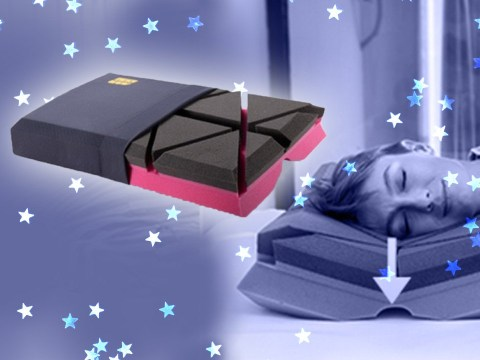 This weird pillow promises to 'eliminate' snoring