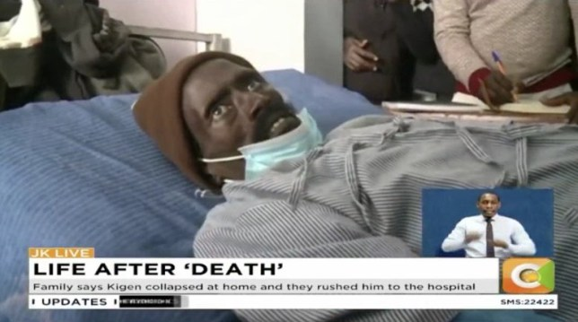 Choc à l'hôpital de Kapkatet alors que l'homme se réveille à la morgue alors que le préposé de la morgue s'apprête à embaumer son corps au Kenya