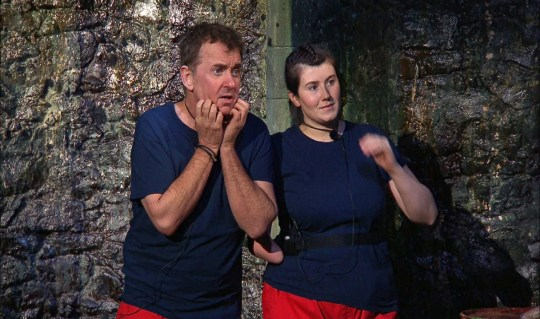 I'm A Celebrity stars Shane Richie and Hollie Arnold