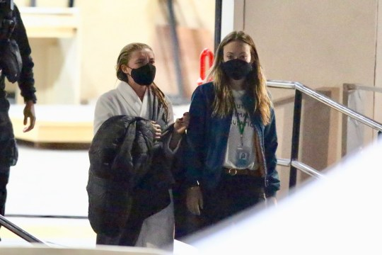 Harry Types and Florence Pugh again on Do not Fear Darling set