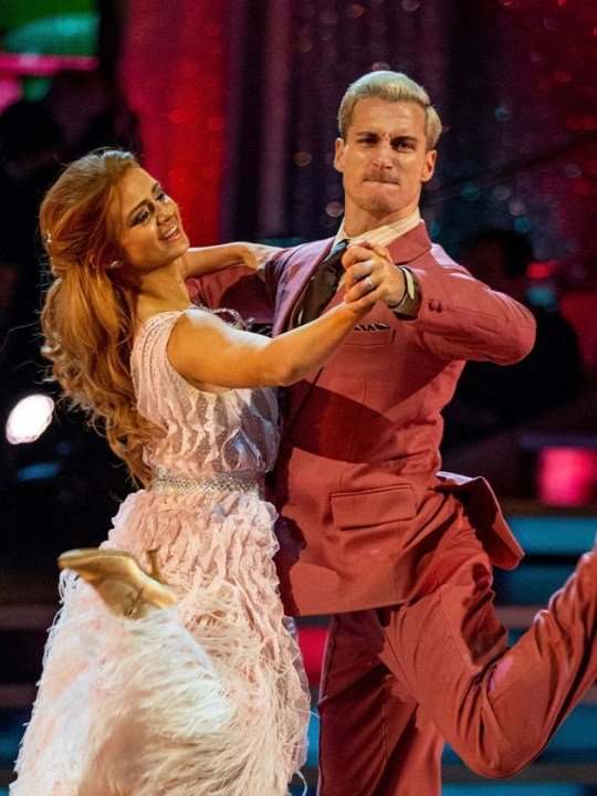 Maisie Smith dancing on Strictly