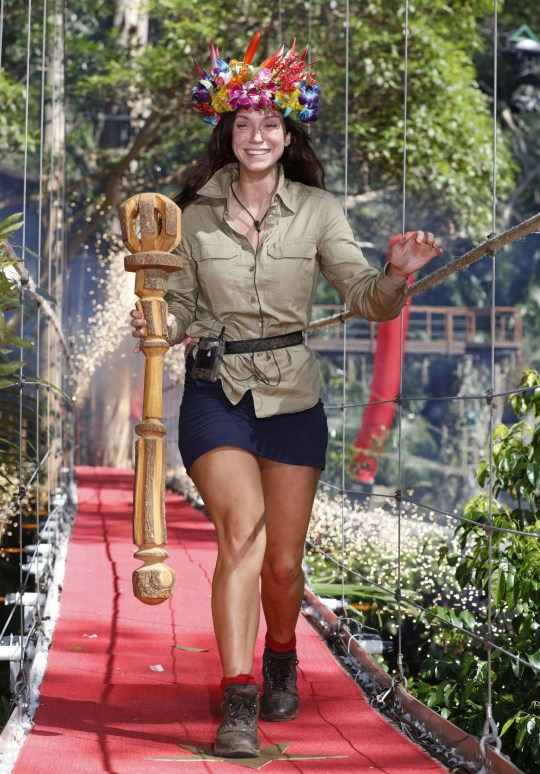 Vicky Pattison 'wins I'm A Celebrity