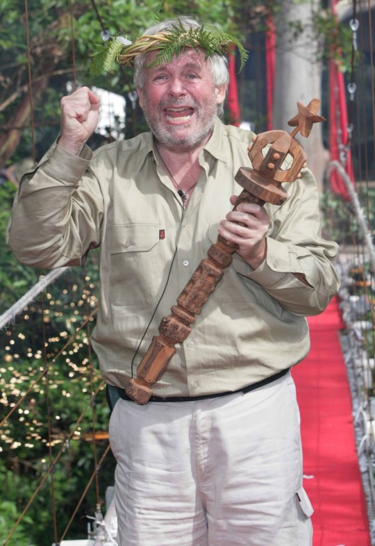 Christopher Biggins wins I'm A Celebrity