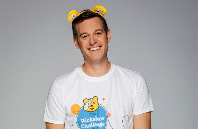 The One Show presenter Matt Baker.