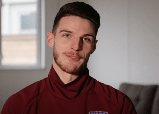 England international Declan Rice has been heavily linked with a move to Stamford Bridge