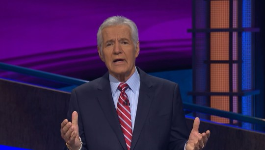 Late Jeopardy! host Alex Trebek