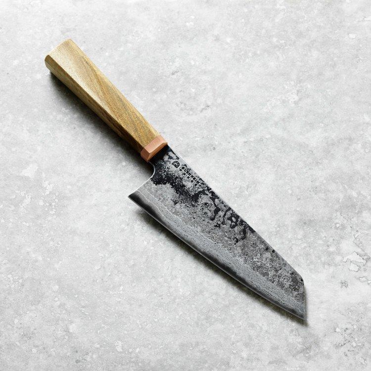 Santoku knife from Blenheim Forge in Peckham, London
