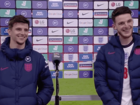 Mason Mount and Declan Rice talk up their midfield partnership after England sail past Iceland