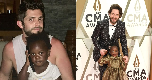 Thomas Rhett celebrates his eldest daughter Willa Gray's 5th birthday