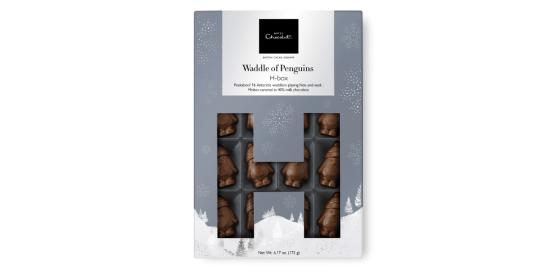 The waddle penguin Hotel Chocolat box
