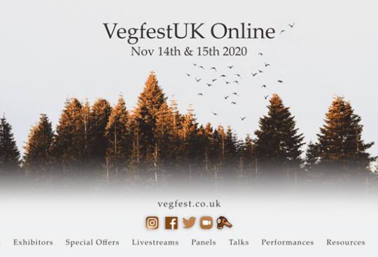 vegfest uk online
