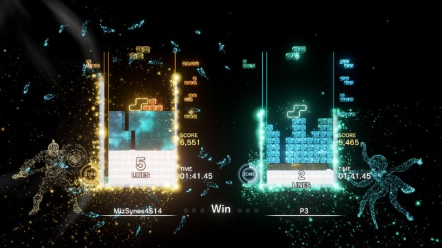 Tetris Effect: Connected screenshot