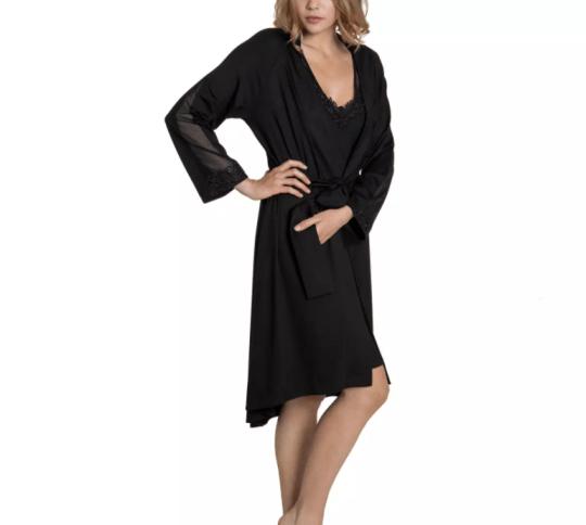 black illusion morning gown debenhams