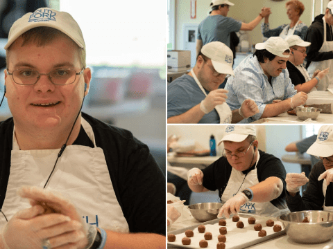 Successful bakery is run by 15 staff with special needs