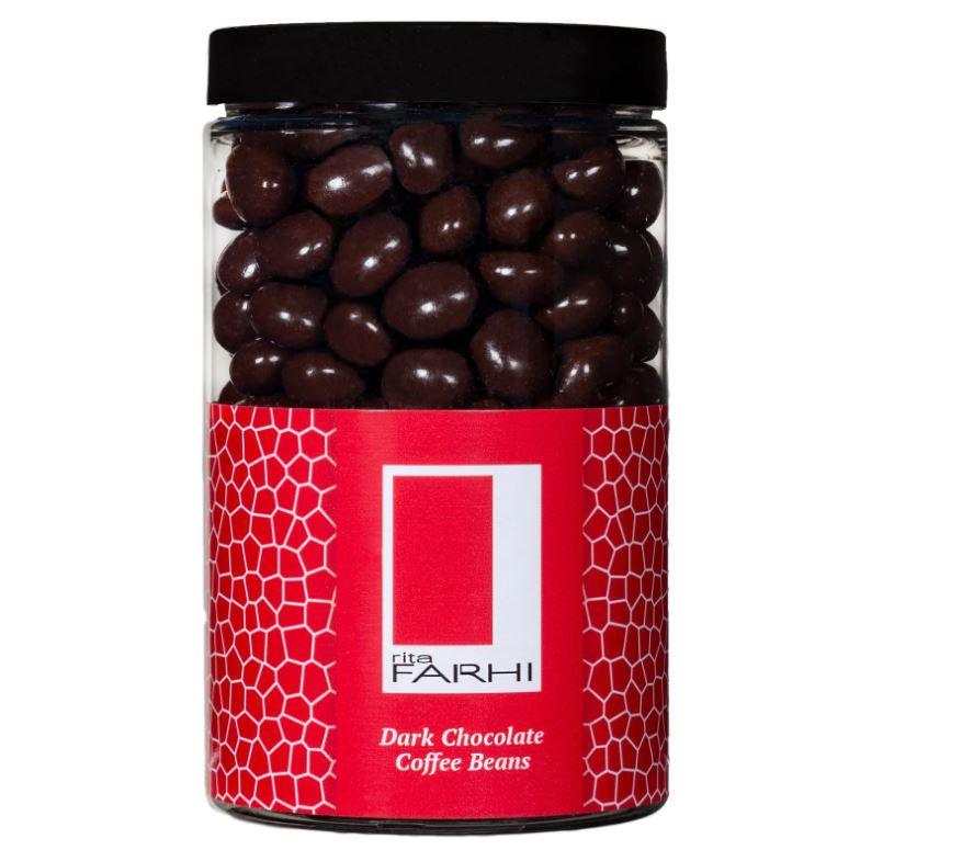 Espresso beans covered in chocolate make a sweet gift at a good price (Picture: Farhi.com)