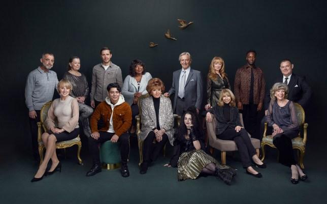 Coronation Street 60th anniversary cast shot