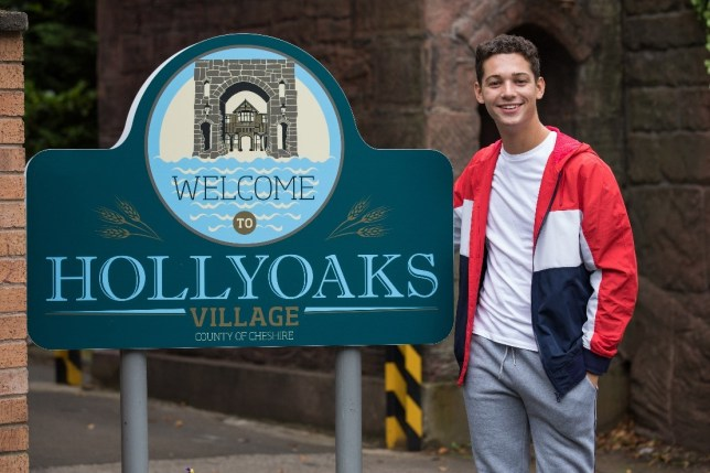 Ollie in Hollyoaks