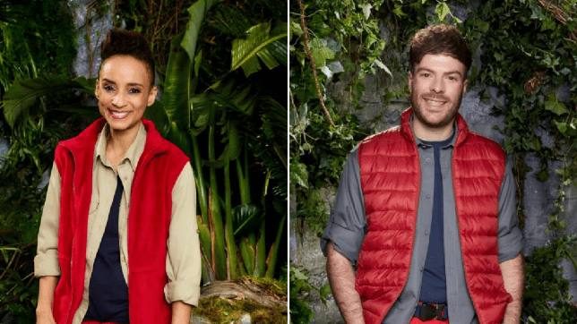 I'm A Celebrity star Adele Roberts and Jordan North