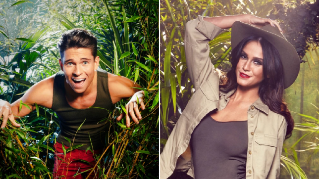 Joey Essex and Vicky Pattison on I'm A Celebrity... Get Me Out Of Here!