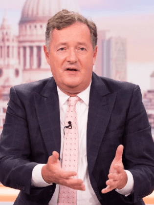 Piers Morgan remarks Harry Styles 'looks a bit weird' in a dress as he debates whether it's time to bring back 'manly men'