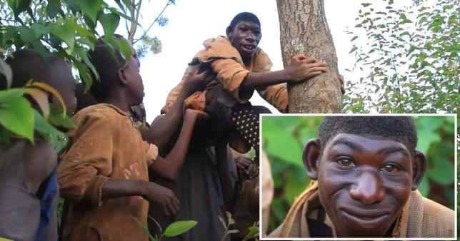 Rwandais âgé de 21 ans, non verbal et mange de l'herbe