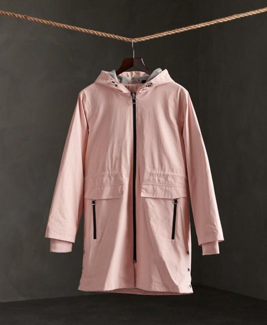 superdry waterproof coat