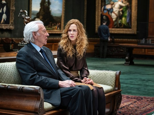 Donald Sutherland and Nicole Kidman The Undoing