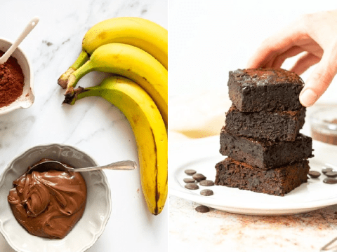 How to make three-ingredient Nutella brownies without flour, milk, eggs or butter