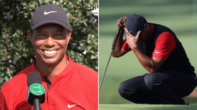 Tiger Woods speaks out on 12th hole disaster at The Masters after hitting three balls in the water