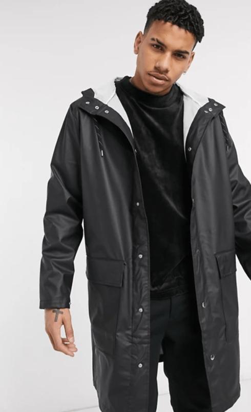 weekday sune waterproof unisex jacket